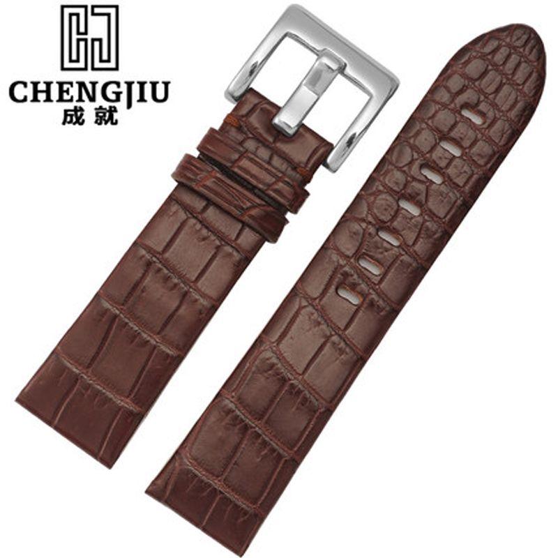 22mm Mens Genuine Leather Watchband For Montblanc/Timewalker Watches Watch Strap Belt Bracelet For Male Correas Reloj Orologi