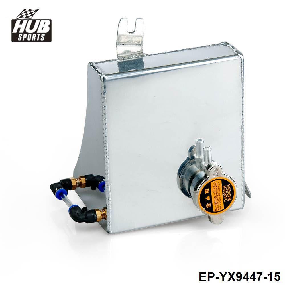 Aluminum Radiator Coolant Reservoir Kit Overflow Tank Can For Nissan 240SX S13 HU-YX9447-15