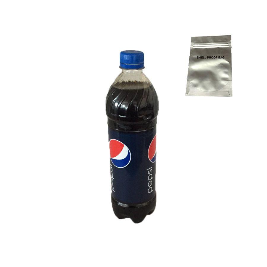 (Une pièce/lot) Cachette sûr Pepsi bouteille d'eau déroutement sûr (DIY Vide bouteille) avec une qualité alimentaire odeur preuve sac