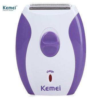 Kemei Портативный 100-240 В Для женщин электробритвы удаления волос Машинка для стрижки волос Эпиляторы бикини станок для бритья депиляция для у...