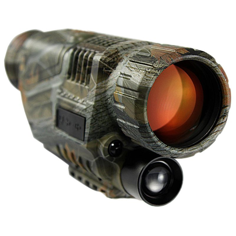2017 HD Powerful Weapon Sight Night-Vision Monocular Hunting Tactical Infrared Night Vision Telescope Military Digital Monocular