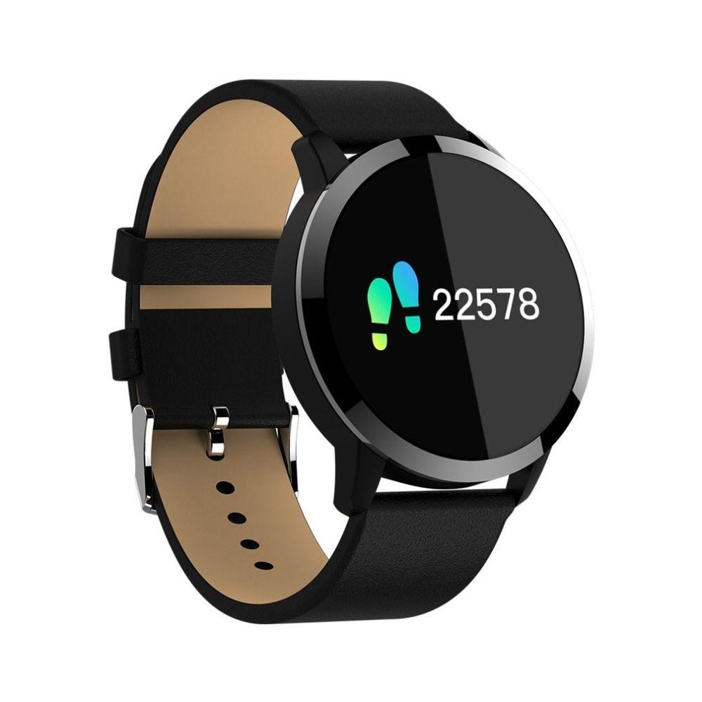OUKITEL W1 Intelligent Montre Étanche IP67 Surveillance de la Fréquence Cardiaque de Tension Artérielle D'oxygène Bluetooth Anti-perte Montre de Sport drop ship