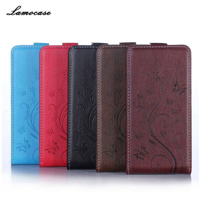 Lamocase Embossing Protective cover For Sony Xperia E5 F3311 Flip Case For Sony Xperia E5 (F3311)LTE(SI1302-8958) Phone Bags