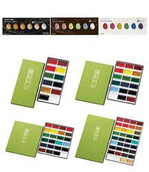 Kuretake Gansai Tambi Watercolor Paint MC20/Starry Pearl Gem 12V 18V 24V 36V Colors