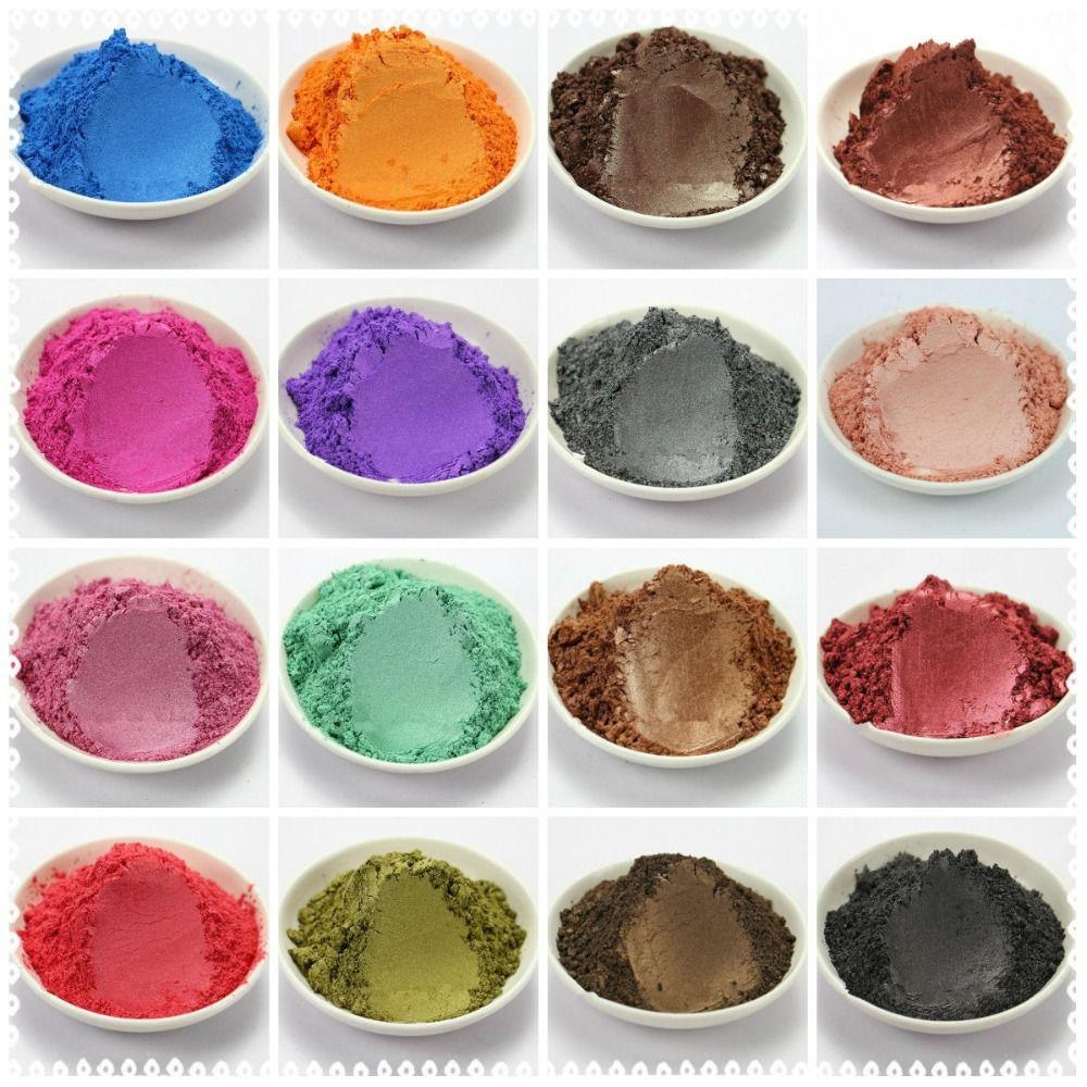50g sain naturel minéral Mica poudre bricolage pour savon Colorant savon Colorant maquillage fard à paupières savon poudre livraison gratuite