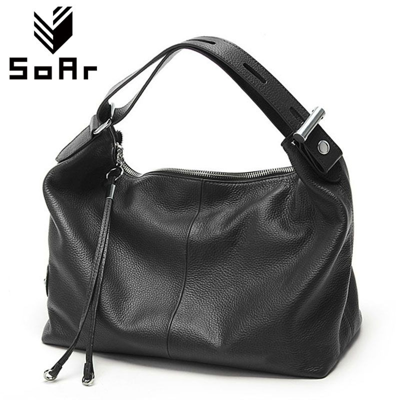 Free Shipping Ladies' Genuine Leather Handbag Designer Women Handbags Shoulder Bags Luxury Brands Top-Handle Bag New Fashion Hot