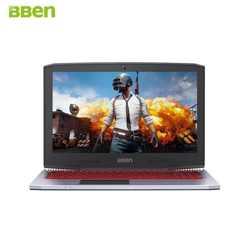 BBEN G16 15,6 ''Laptop Nvidia GTX1060 GDDR5 Intel i7 7700HQ Pro Win 10 32 gb RAM M.2 SSD IPS RGB Beleuchtete Tastatur Gaming Computer