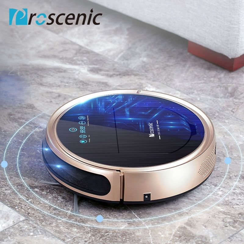 Robotic Vacuum Cleaner Proscenic 790T Vacuum Mop Sweep 3 in 1 Cleaner for Pet Hair Wifi Connected Robot Vacuum 1200Pa