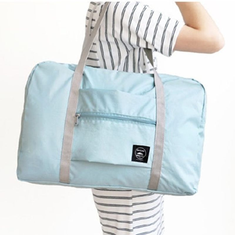 2017 New Arrival Fashion Women Travel Bag Oxford Zipper Travel Duffle Carry on hand luggage packing cube