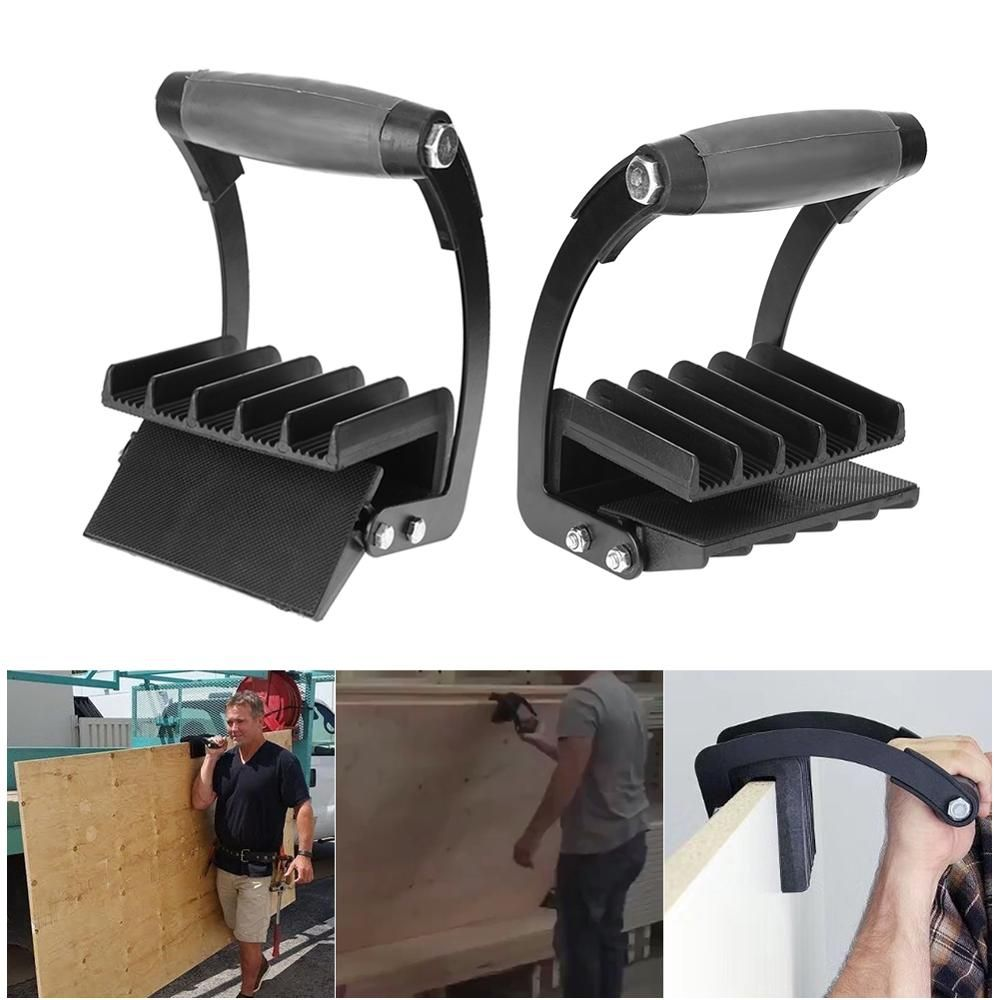 New Free Hand Easy Gripper Panel Carrier Handy Grip Board Lifter Plywood Wood Panel Carrier Home Furniture Accessories