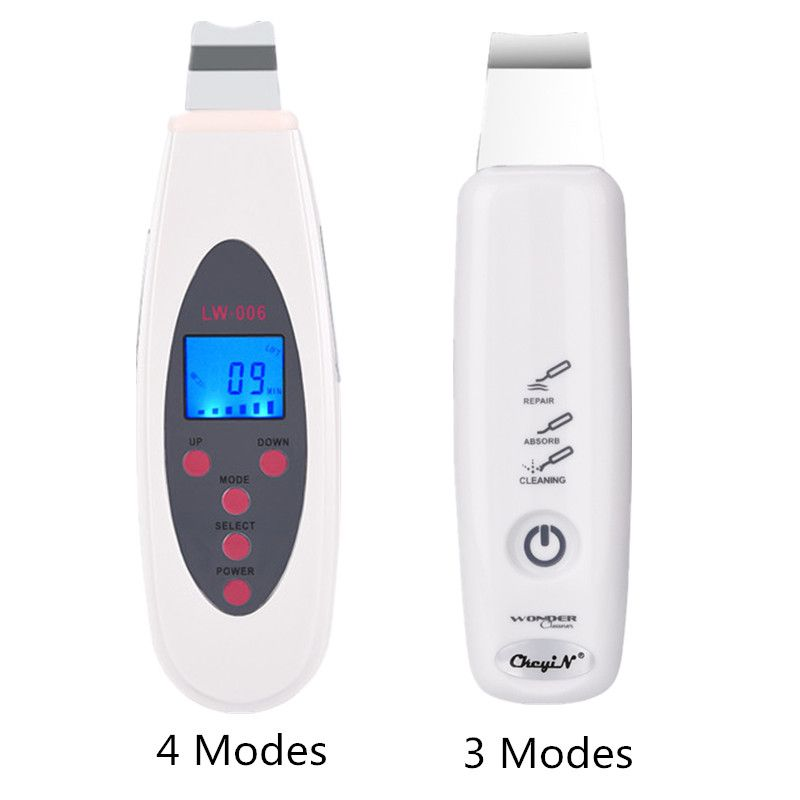 Ultrasonic Skin Scrubber Face Deep Cleansing Skin Peeling Facial Pores Cleaner Acne Blackhead Wrinkles Removal Exfoliating 35