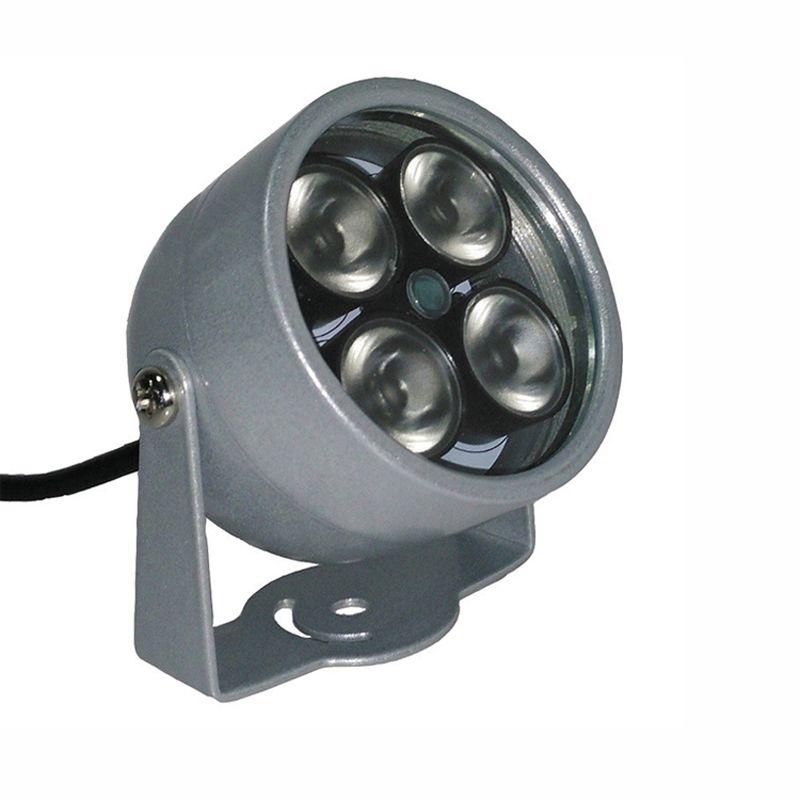 Surveillance Camera Metal Outdoor Waterproof 4pcs Infrared Array led Fill Night Vsion illuminator Lamp Free Shipping