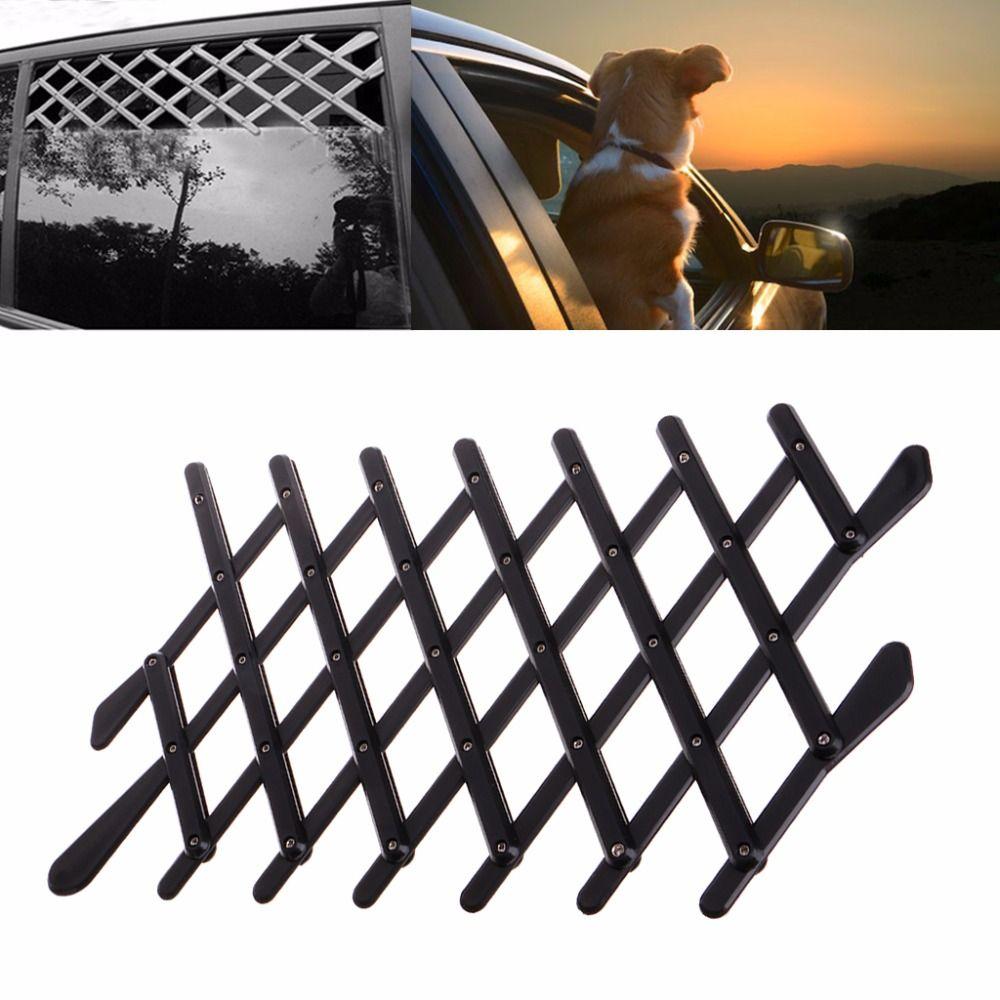 Pet chien voiture fenêtre Ventilation garde sûre maille Vent clôture de protection en plein air nouveau