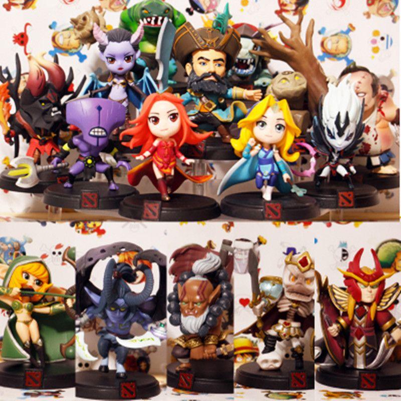 WOW Tous Les Styles Jeu DOTA 2 Figure Kunkka Lina Pudge Reine Tidehunter CM FV PVC Figurines Collection dota2 Jouets