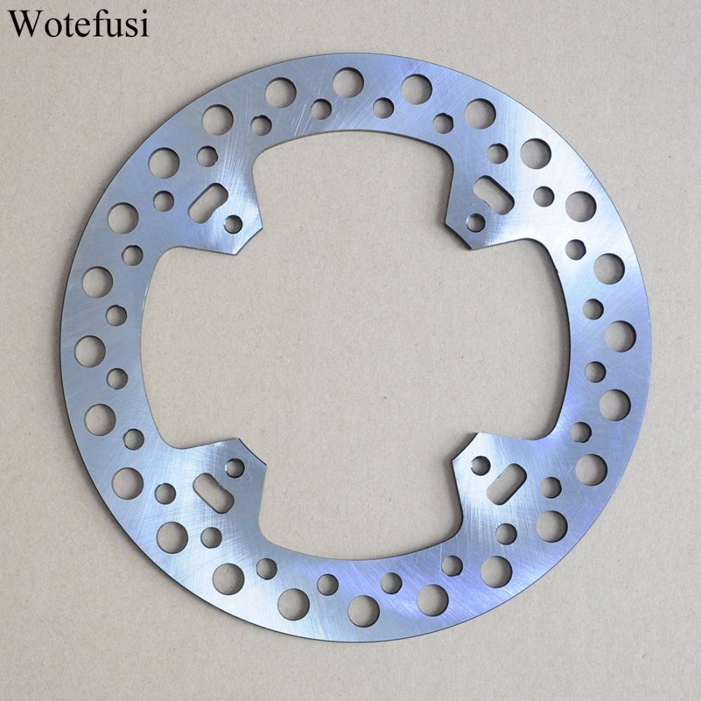Wotefusi Motorcycle One Piece Rear Brake Rotor Disc For Honda CR125 CR250 CR450F SUPERMOTARD 2002-2003 CRF450R 2002-10 [PA410]