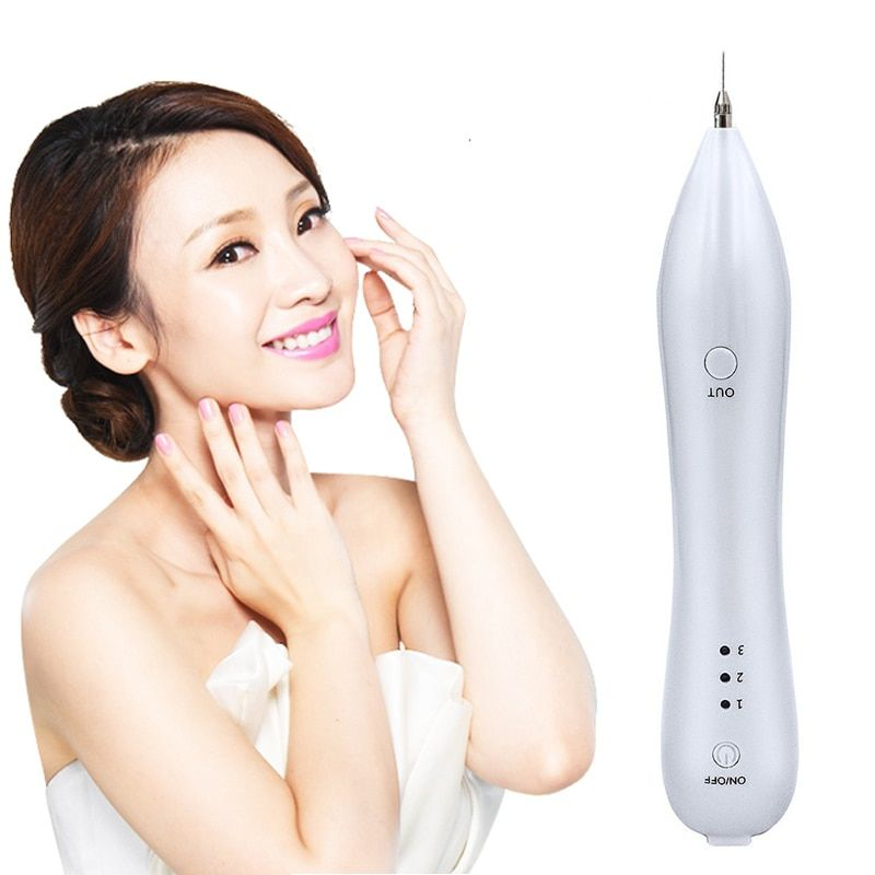 Laser Mole Removal Tool Spot Cleaner Spot Freckle Removal Pen Wart Removal Machine Skin Care Beauty Device extrator de cravo