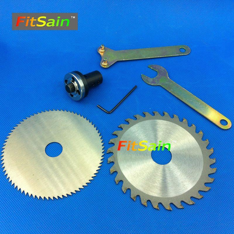 FitSain-4 circular saw blade wood cutter cutting <font><b>disc</b></font> Adapter coupling bar Connecting rod for motor shaft 5mm/6mm/8mm/10mm/12mm