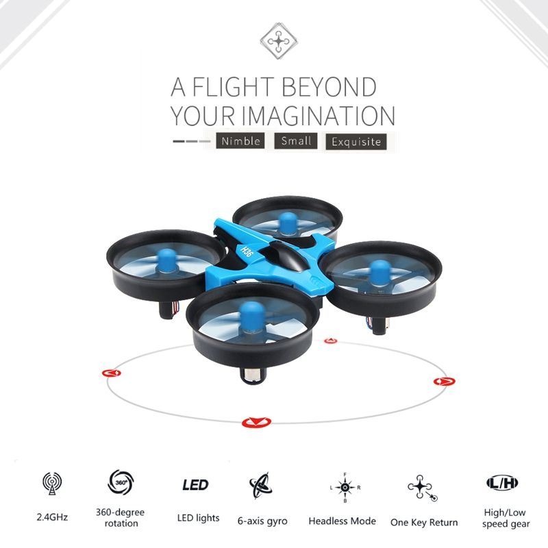 Jjrc H36 Mini Drone Rc Quadcopter 6-axis Rc <font><b>Helicopter</b></font> Blade Inductrix Quadrocopter Drons Toys For Children Dron Copter