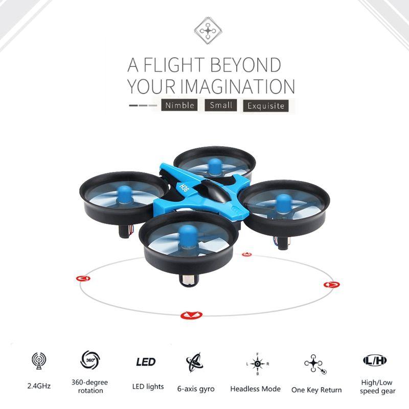 Jjrc H36 Mini Drone Rc Quadcopter 6-axis Rc Hélicoptère Lame Inductrix Quadrocopter Drons Jouets Pour Enfants Dron Copter