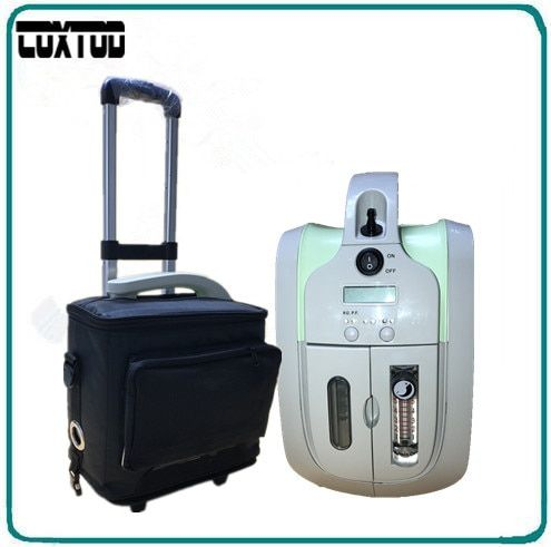 COXTOD battery 1-5LPM portable oxygen concentrator/oxygen generator/mini oxygen concentrator JAY-1 for COPD/home/travel/car