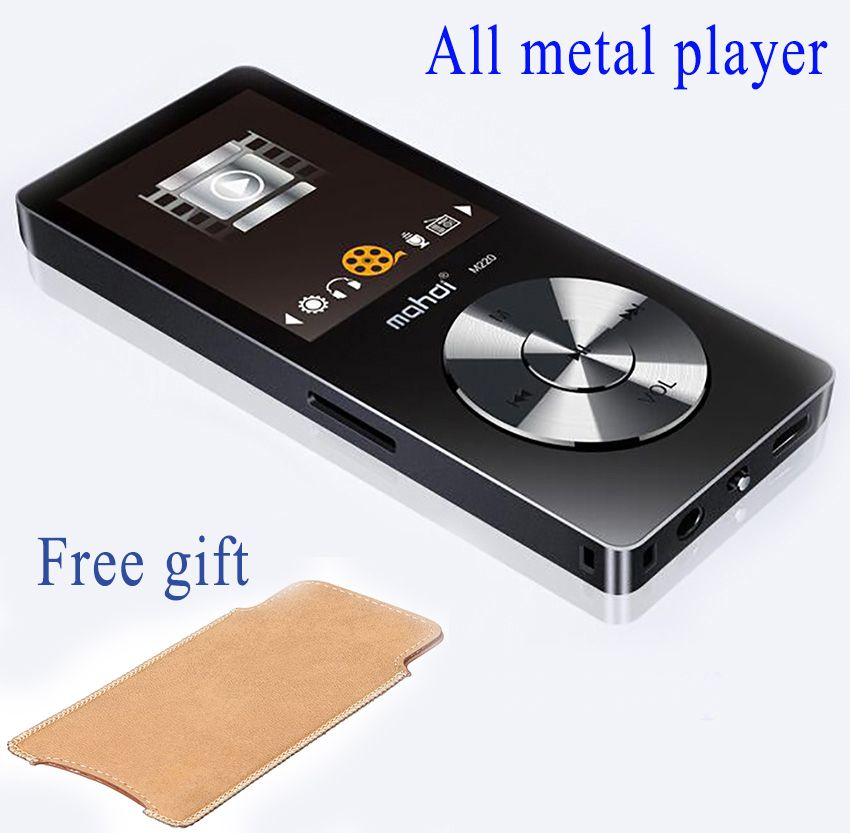2017 Original HiFi MP3 Player with Speaker Metal APE/FLAC/WAV High Sound Quality 8GB Entry-level Lossless Music Player with FM