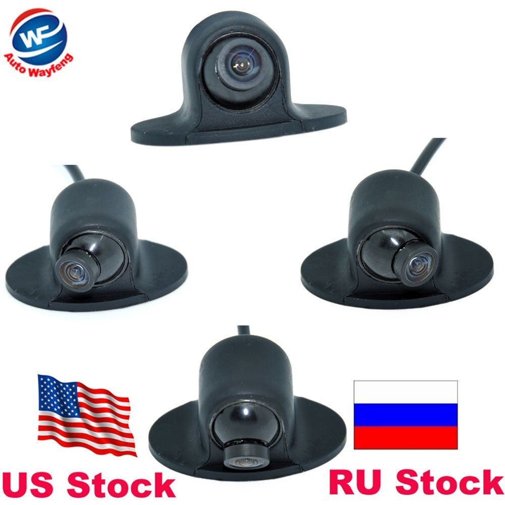 Hot Selling Mini CCD HD Night Vision 360 Degree Car Rear View Camera Front Camera Front View Side Reversing <font><b>Backup</b></font> Camera
