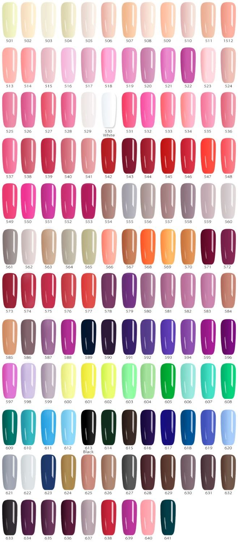 141pcs*5ml Painting Gel CANNI Hot Sale Nail Art Salon Manicure Whole Set Pure Colors LED Gel Lacquer Fast Shipment Paint UV Gel