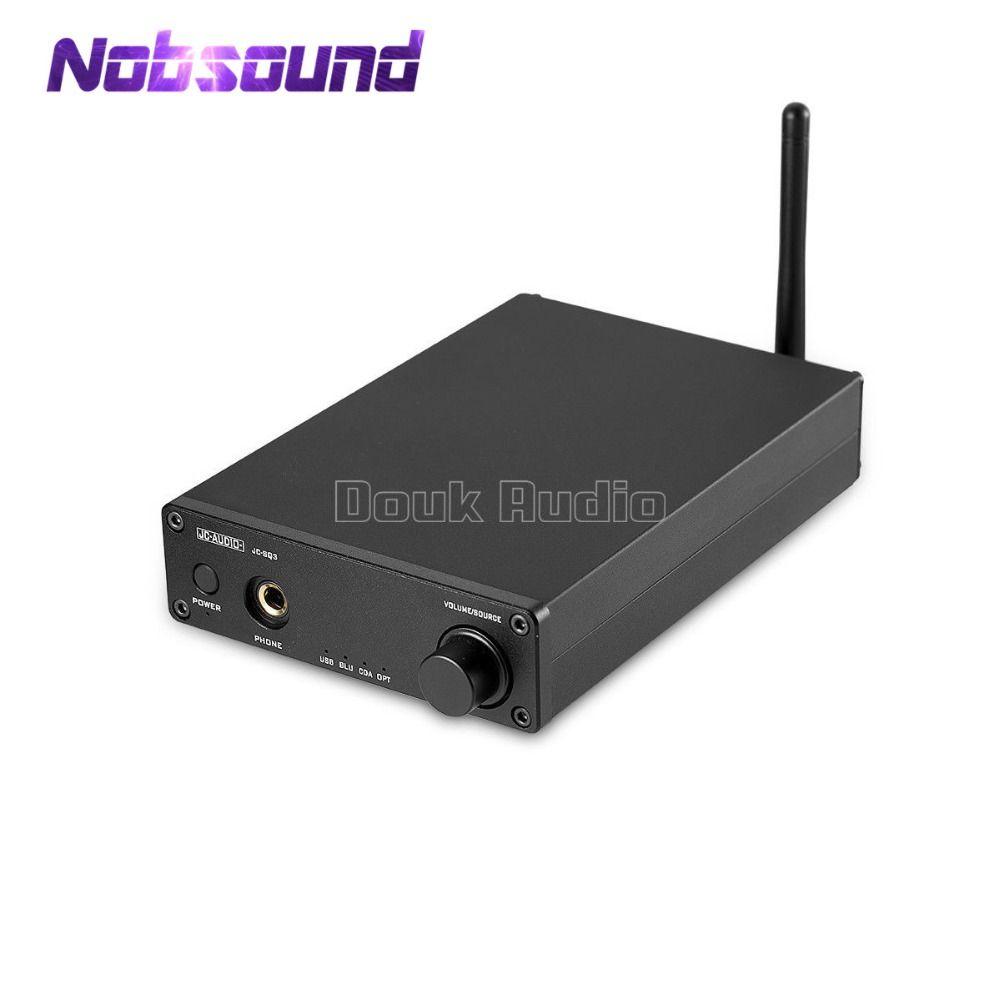 Nobsound Hi-end Mini AK4490 Audio Decoder DAC USB Optical Coaxial CSR8670 Bluetooth 5.0 Hi-Fi Headphone Amplifier