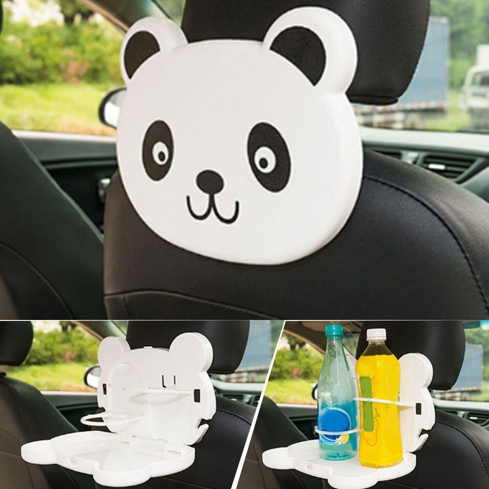 Foldable Cup Holder Auto Car Back Seat Table Drink Food Cup Tray Holder Stand Desk Storage Shelves 4 Colors Meal Desk Table New