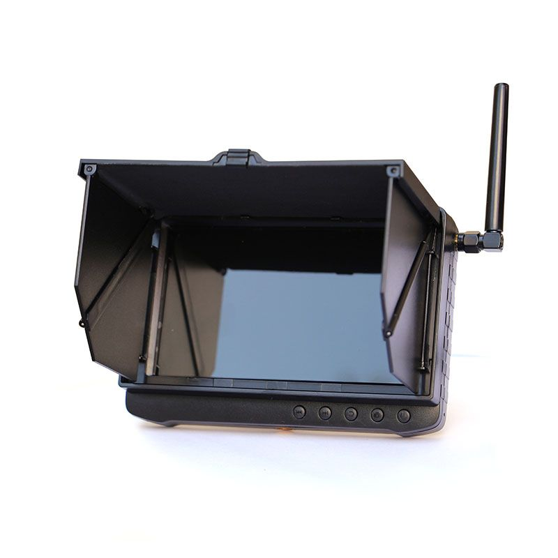 New Arrival 2.4G 8CH HD Wireless Mini DVR Security Camera Receiver with Sun Shade Cover