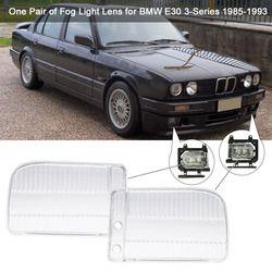 Ein paar Nebelscheinwerfer Objektiv Abdeckung Fall für BMW 3er E30 1985-1993