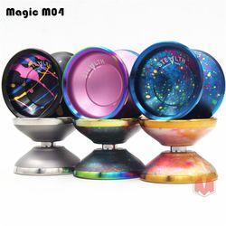 Baru Tiba Magicyoyo Stealth YOYO Ajaib M04 Logam Profesional Yo-yo Kompetisi Atletik Diabolo Pengiriman Gratis