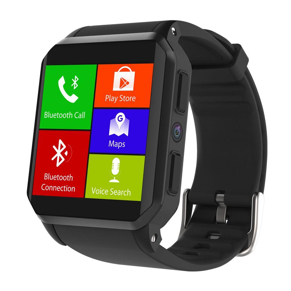 Bluetooth Smart Watch GPS Wifi SmartWatch 3G Nano SIM Waterproof IP68 Camera Barometer Heart Rate Monitoring support call sms