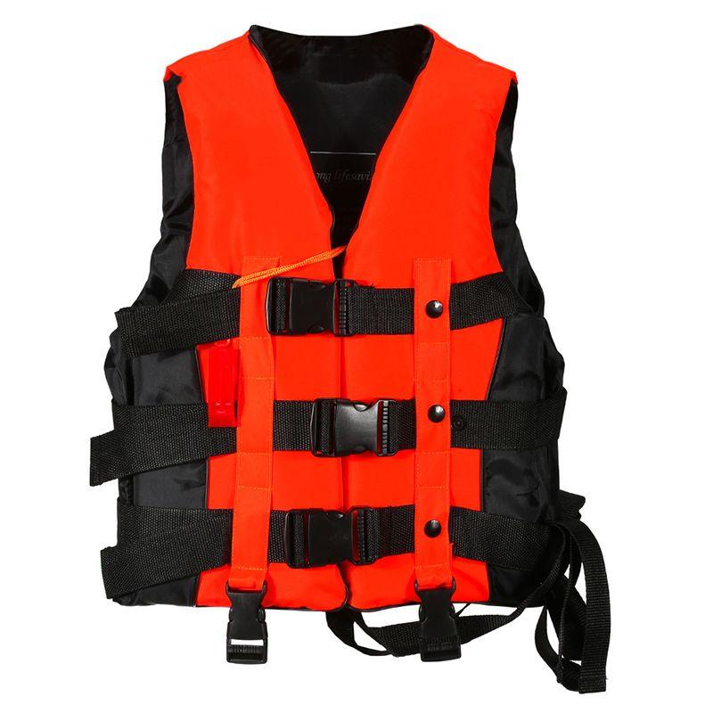 Полиэстер взрослых спасательный жилет Универсальный Одежда заплыва на лодках лыжи дрейфующих жилет с Свисток предотвращения S-XXXL размеры О...