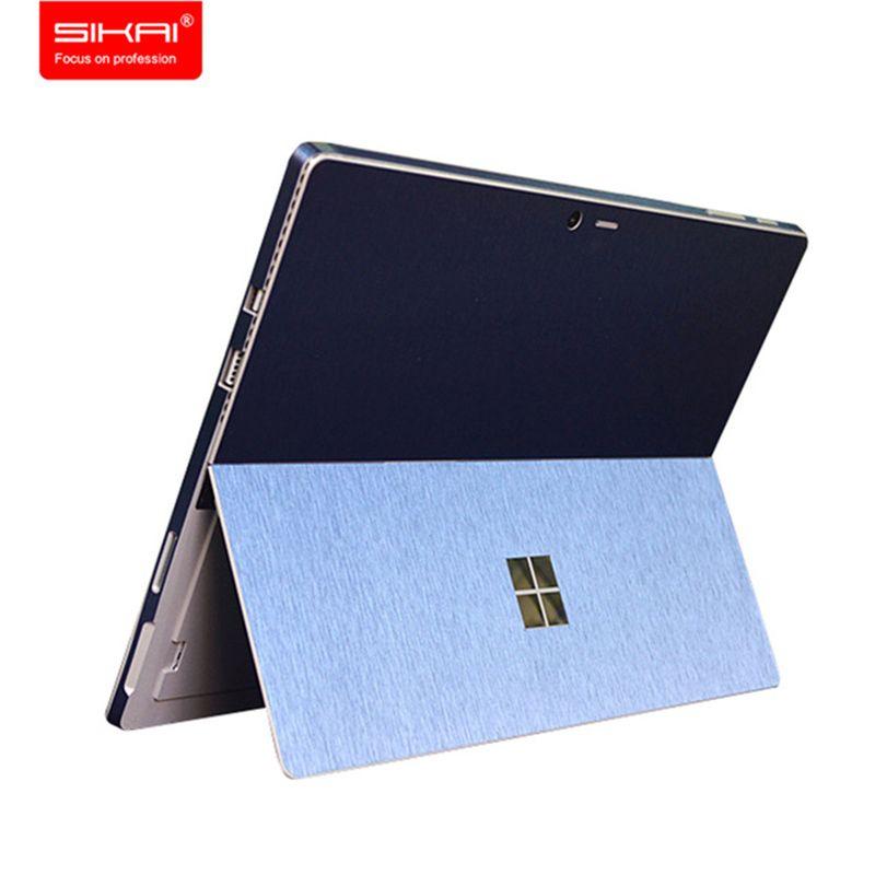 SIKAI Protecteur D'écran Tablet Decal Couverture Arrière Film Pour Surface Pro 4 Wrap Protéger La Peau Autocollant Pour Surface Pro 4