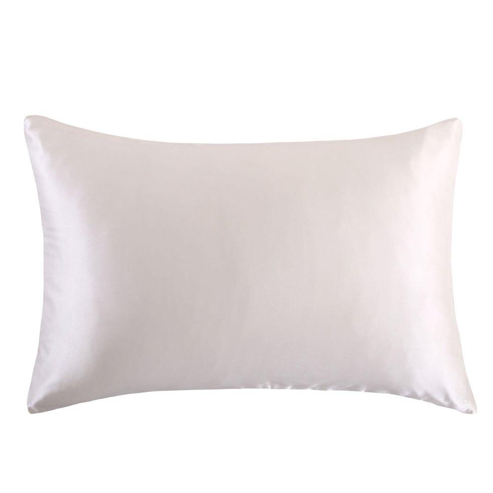 Livraison gratuite 100% nature taie d'oreiller en soie de mûrier fermeture éclair taies d'oreiller taie d'oreiller pour sain standard reine roi multicolore