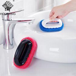 1 PC éponge magique gomme Brosse De Bain Carreaux Brosse de Lavage Pot Propre Brosse Éponge accessoires de salle de bains Cuisine brosse de nettoyage