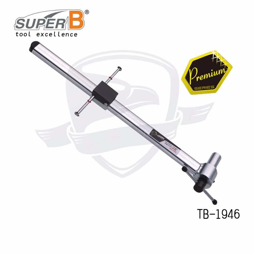 super B TB-1946 derailleur hanger alignment gauge for bicycle repair tools