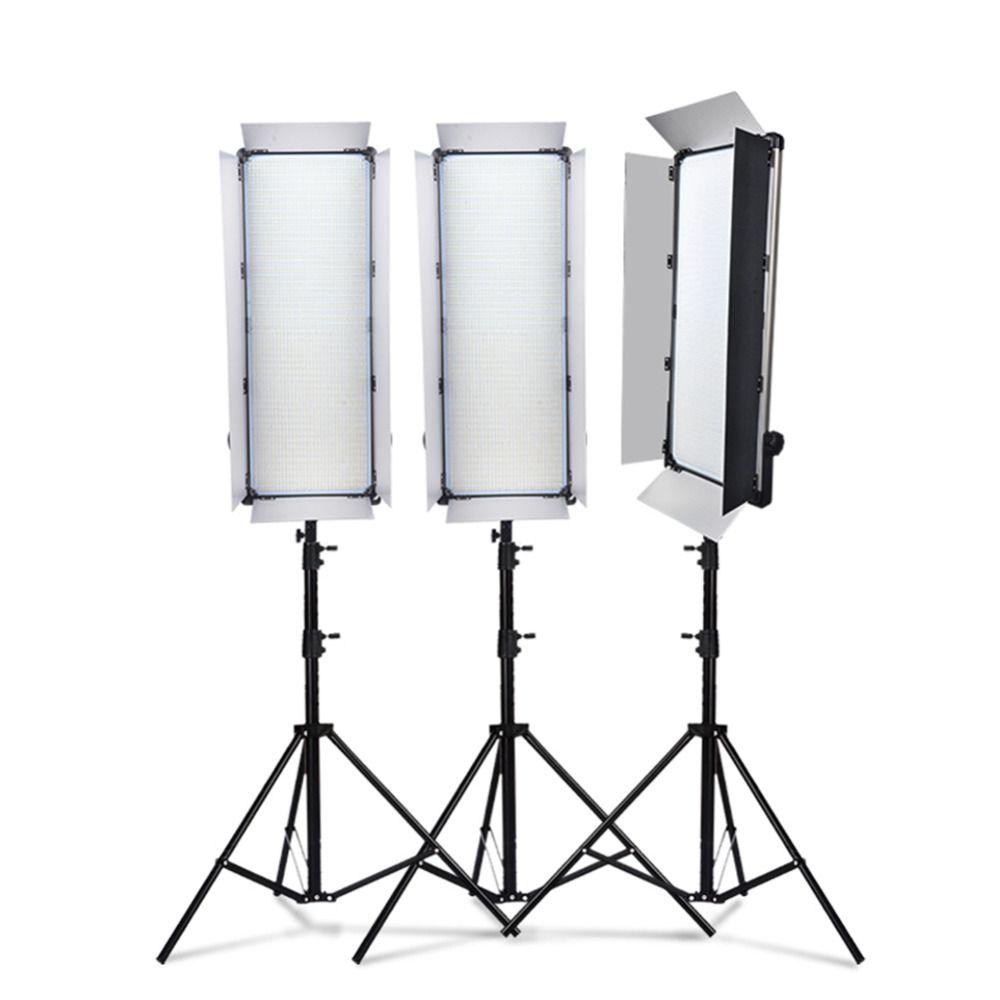 Dhl 1 stück yidoblo led lampe licht d-3100ii 200 watt 20000 lumen studio professionelle multi-farbe fotografie geführte video weiterhin licht