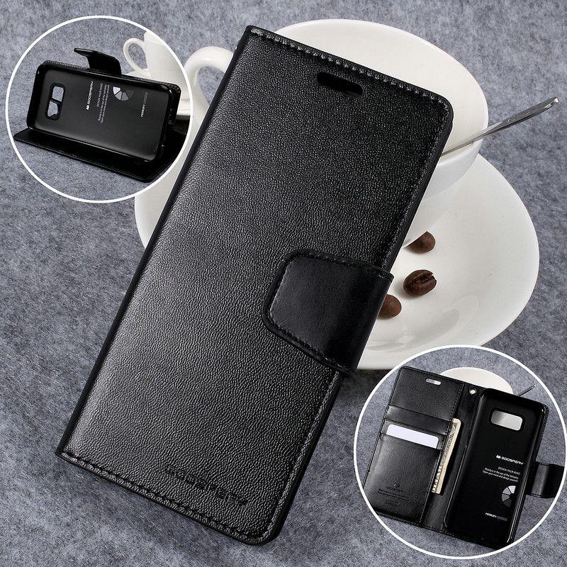 MERCURY GOOSPERY Sonata Diary PU Leather Flip Case for Samsung Galaxy S8 G950 G950F G950FD G950U G950A G950P G950T G950V 5.8