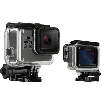 For GoPro Hero5 Hero6 45M Waterproof Case Gopro Underwater Protective Shell Housing Box For Go Pro Hero 5/6 Black Accessories