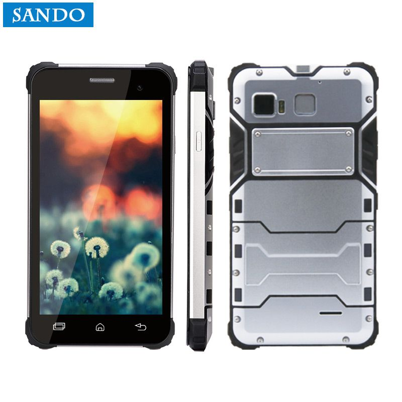 Jeasung D6 Outdoor Rugged Phone IP68 Waterproof Dual Sim 5 inch NFC Smartphone Android 6.0 with Fringerprint Reader
