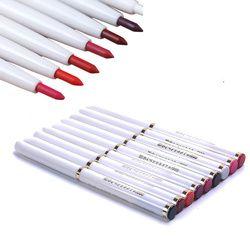 1 шт. автоматический роторный карандаш для губ долговечный натуральный сексуальный женский водонепроницаемый карандаш для губ красота Мак...