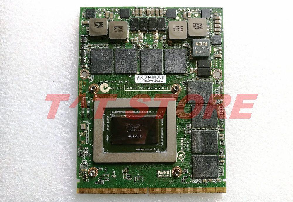 Original 0RDJT7 M6600 M6700 VGA Video Grafikkarte CN-0RDJT7 RDJT7 für Quadro 3000 M Q3000M 2G GDDR5 test gute freies sihpping