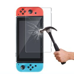 Clear Glass Screen For Nintend Switch Premium Tempered Glass Protective Film Surface Guard For Nintendo Switch Game Accessory