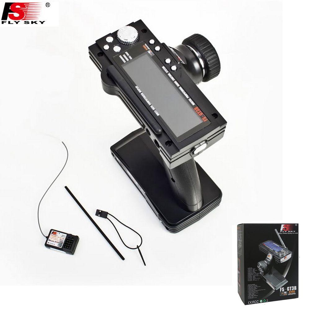 Flysky FS-GT3B FS GT3B 2,4g 3CH Gun RC System Sender mit Empfänger Für RC Auto Boot mit Led-bildschirm