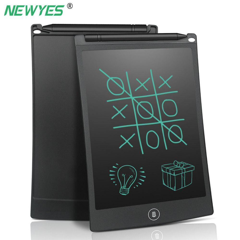 NEWYES 8.5 pouces LCD écriture tablette numérique dessin bloc-notes électronique écriture bloc-notes carte graphique avec stylet stylo enfants cadeau