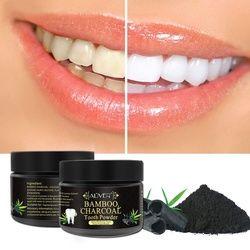 Dientes que blanquean el polvo Natural carbón activado para blanquear los dientes en polvo
