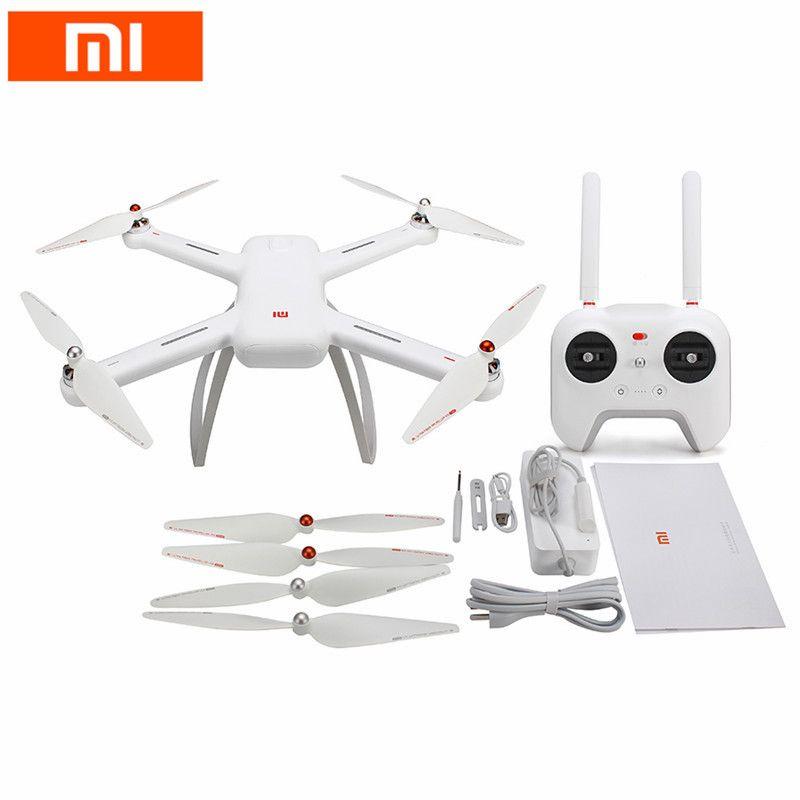 Original Xiaomi Mi Drone WIFI FPV Mit 4 karat 30fps & 1080 p Kamera 3-Achsen Gimbal RC Racing kamera Drone Quadcopter Video Aufnahme