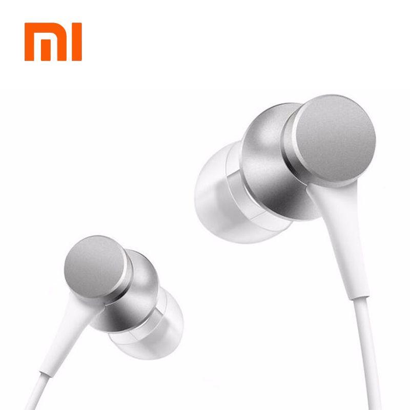 100% D'origine Xiao mi piston In-Ear Stéréo Écouteur Avec Télécommande Mi c musique mi Casques pour xiao Mi Samsung Iphone SE 5S 6 6 s MP3